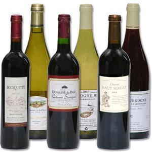 6 mixed wines